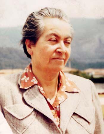 Mistral, Gabriela (1889 – 1957)