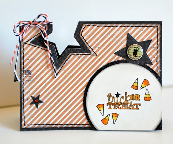A Project by TonyaDirk from our Scrapbooking Stamping Cardmaking Galleries originally submitted 10/19/11 at 02:16 PMStars Punch, Stars Cut, Tricks Or Treats, Halloween Cards, Treats Cards, July Cards, Gallery, Cards Halloween, Cut Outs