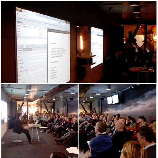 Seminar 'Samen voor dezelfde zaak', live demo iDocumenten. [21-01-2014]