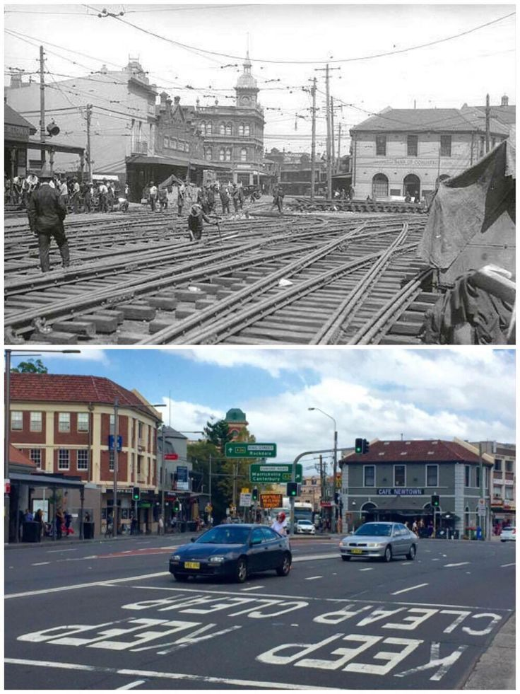 King St, Newtown 1927 > 2016 [State Records NSW > Curt Flood. By Curt Flood]
