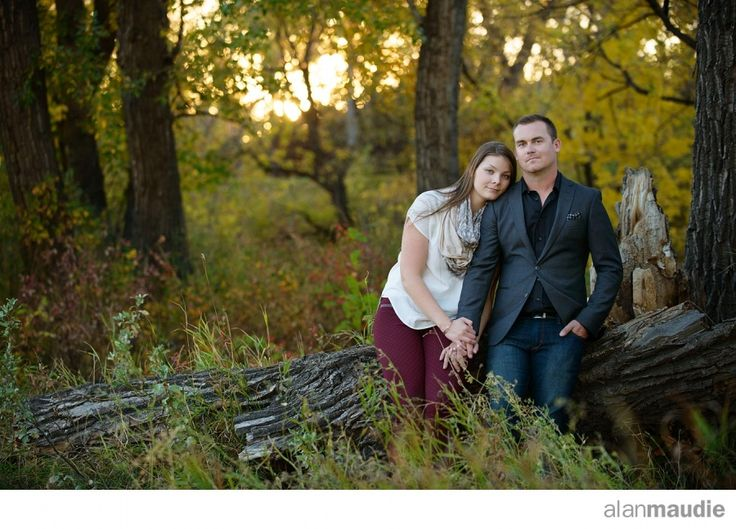Calgary engagement session in the Fall