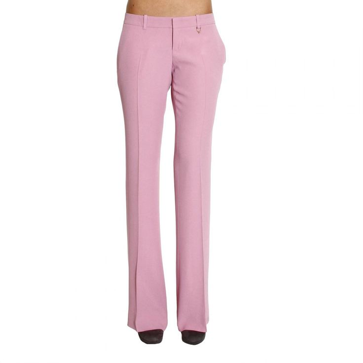 pink gucci | Gucci | Pink Trouser Woman | Lyst