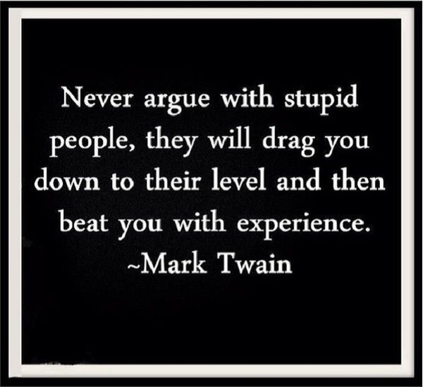 Mark Twain Quote, but so true today