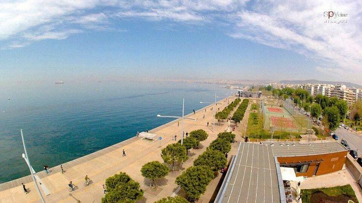 Thessaloniki beach