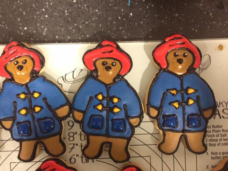 Paddington Bear Cookies