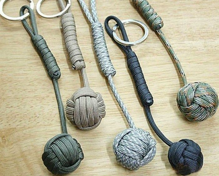 Paracord Self Defense Keychain                                                                                                                                                                                 More