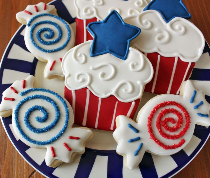 Patriotic Cake Decorating Ideas