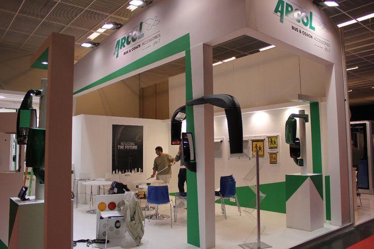 Španělská firma ARCOL - kompletní řešení osvětlení,zrcátek,multifunkčních jednotek a rolet pro veřejnou a hromadnou přepravu