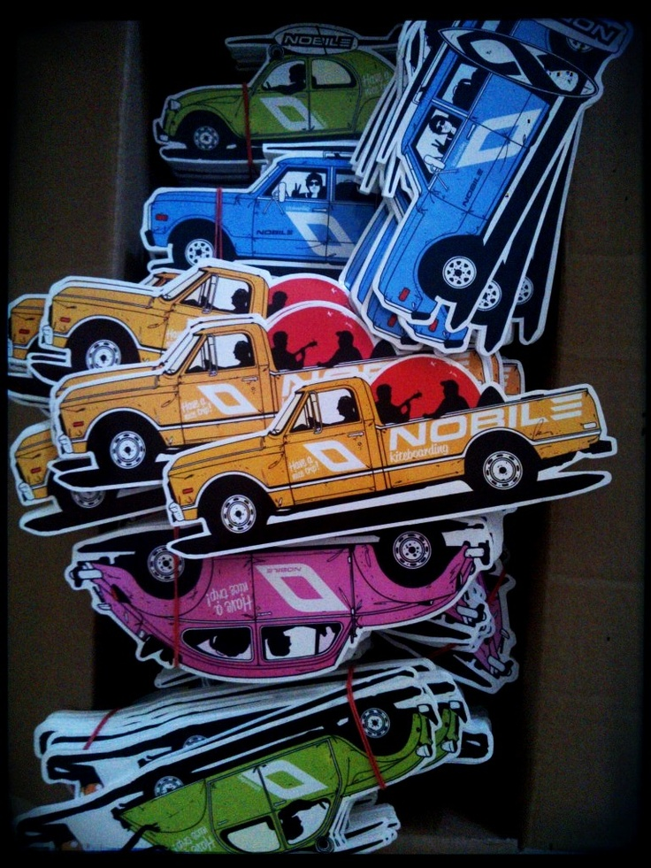 nobile stickers just arrive ;)
