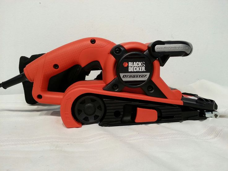 black and decker dragster belt sander manual