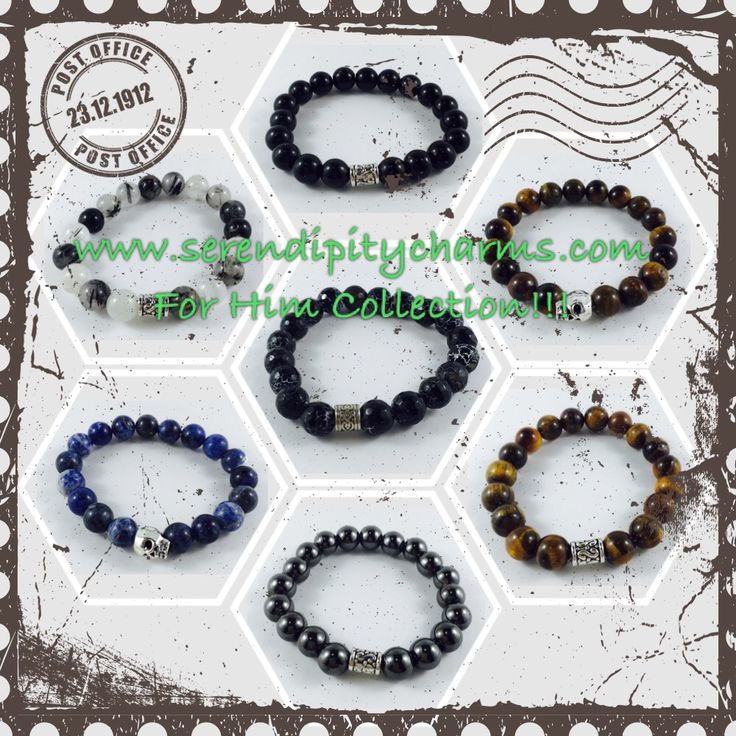 For Him collection now available at Serendipity Charms