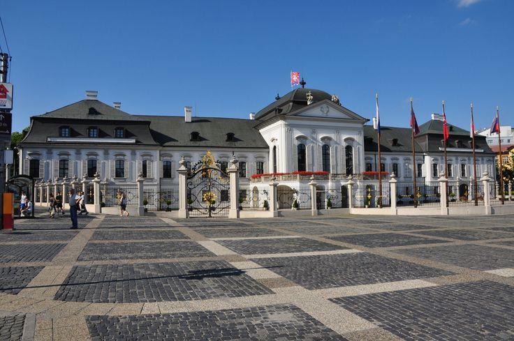Grassalkovich Palace - Bratislava - Slovak Republic