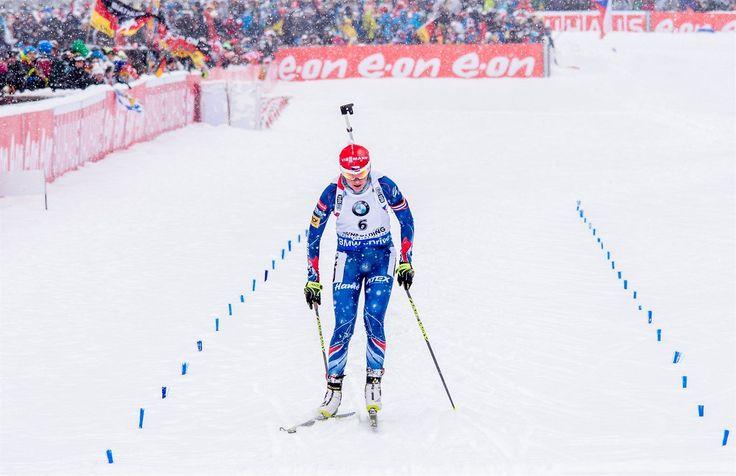 Veronika Vítková v závodě s hromadným startem na SP v Ruhpoldingu. | na serveru Lidovky.cz | aktuální zprávy