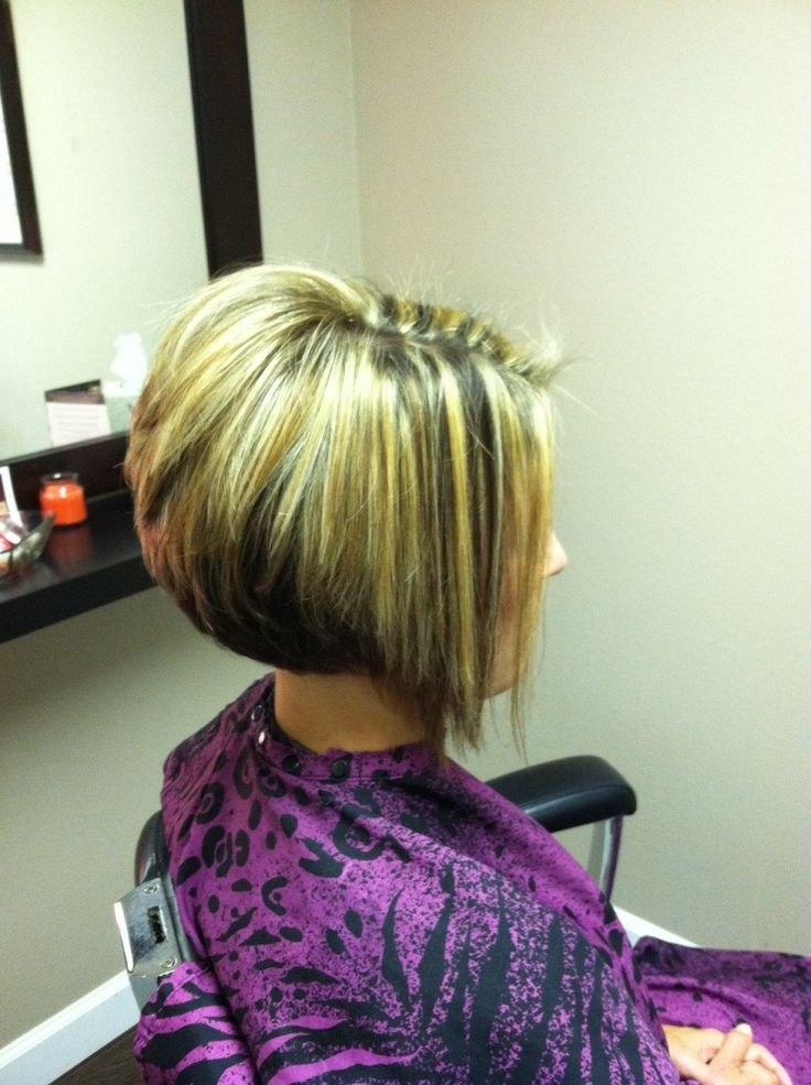 bob hairstyles front and back pictures | ... Dolce Vita Salon : Two ...