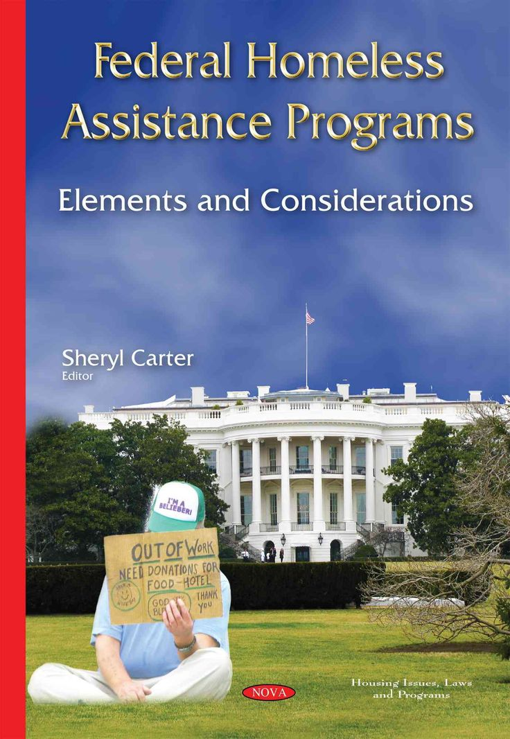 Federal Homeless Assistance Programs: Elements and Considerations
