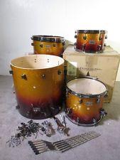 DDRUM Dominion 4 Piece Drum Set, Tequila Sparkle / Maple