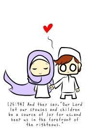 Chibi Drawings (Cute Muslim Characters) - Muslim Manga and Anime Drawings | IslamicArtDB.com