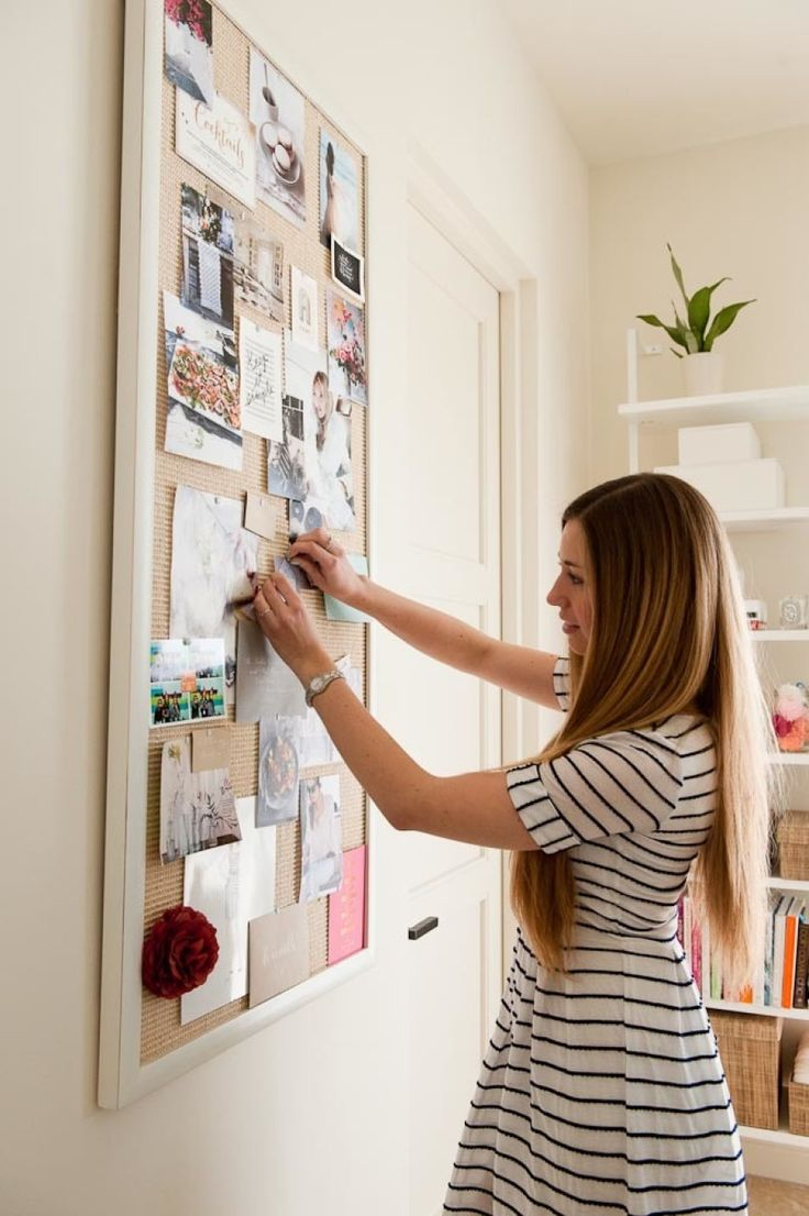 office pinboard. Large Framed Pinboard In Blogger Camille\u0027s Home Office P