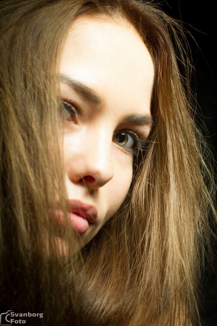 Tanja, beauty model, teen girl looking great. intense and beautyful eyes