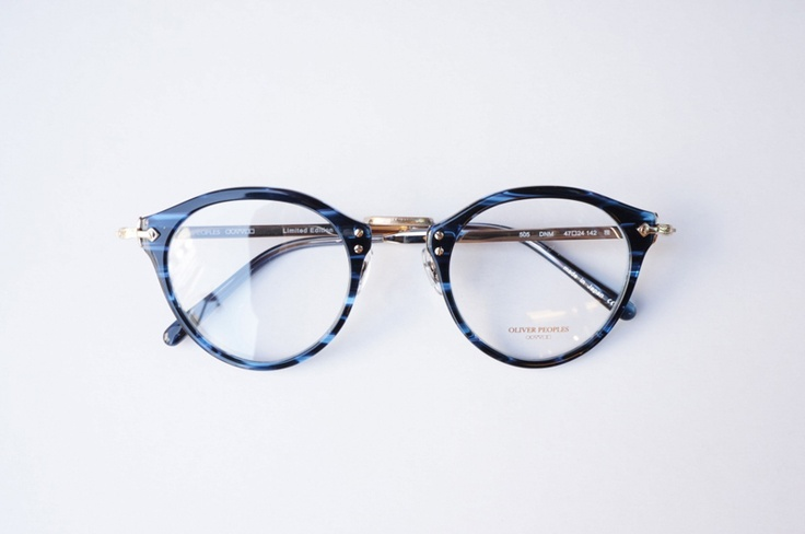 OLIVER PEOPLES(オリバーピープルズ) メガネフレーム OP-505 DNM Limited Edition[OP-505 DNM Limited Edition]
