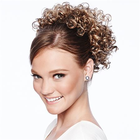 New Arrival! Cheer Dance #Curls POP by Hairdo These tight spiral curls will add some spring to every step.