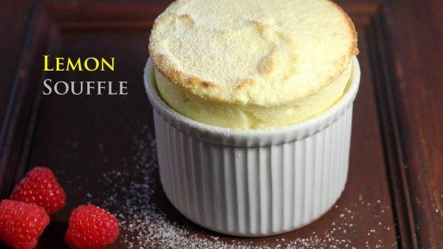 Lemon Souffle | the dessert board | Pinterest