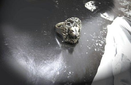 "Кольцо «Лев» - Jewellery Art Ring ""Lion"""