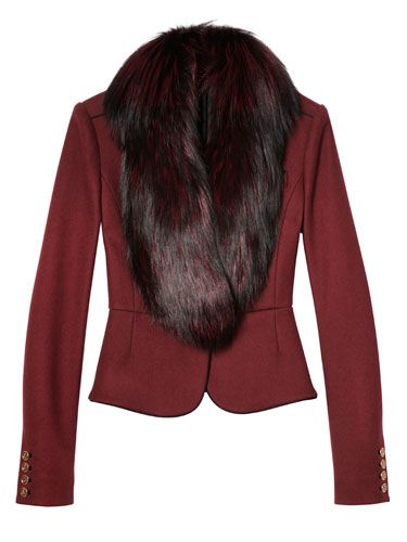 Fab at Every Age - The New Cocktail Hour - 60s: Wine-inflected hues. Jason Wu jacket.