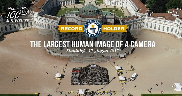 Nikon creates the biggest human camera to celebrate their centenary (included in the Guinness Book of World Records) | Nikon Rumors