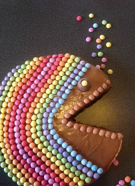 Gateau poisson smarties