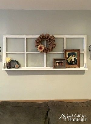 Add a shelf to an old window