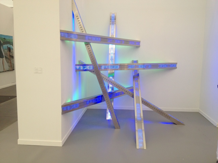 """I think this was my fav... """"Heap 2012"""". Jenny Holtzer at Frieze NYC 2013"""