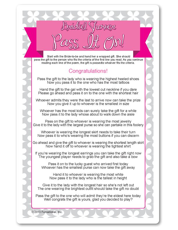 Bridal Shower Games Pass The Bouquet : Best printable bridal shower games ideas on