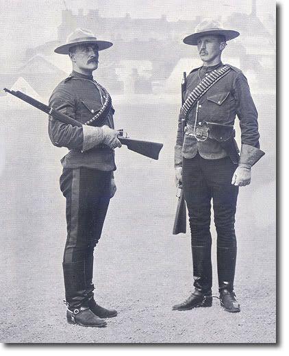 The original NWMP uniform. #CDNGetaway