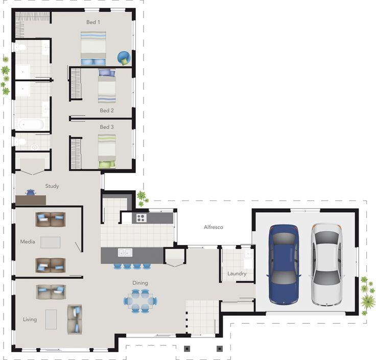 Ridgeway House Design Floor Plan   G.J. Gardner Homes