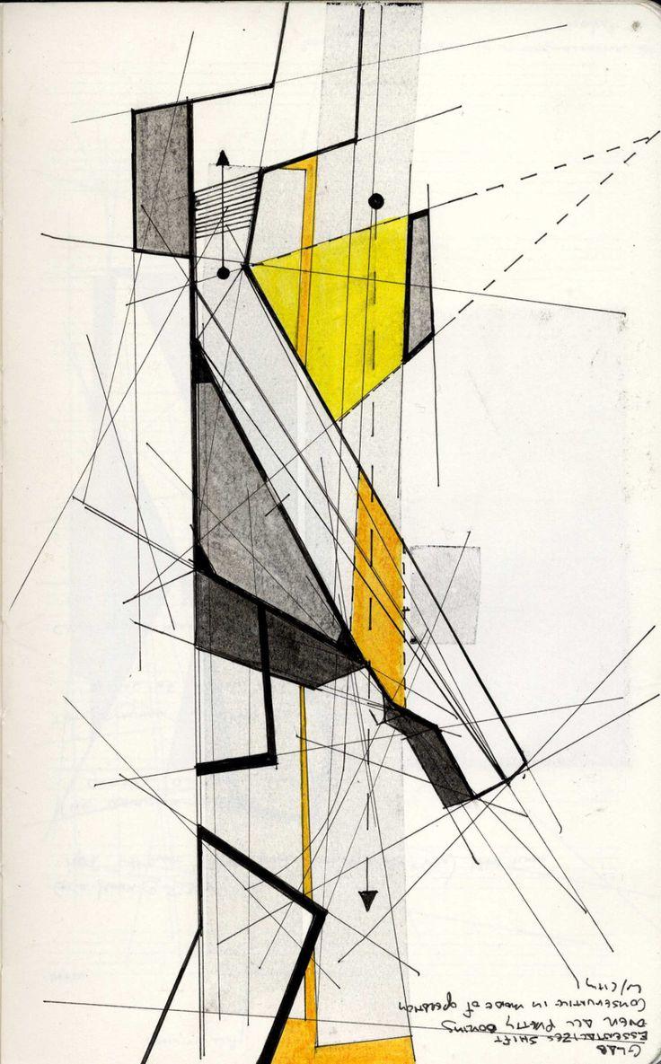Innocent By Design #architecture #sketch #building #illustration