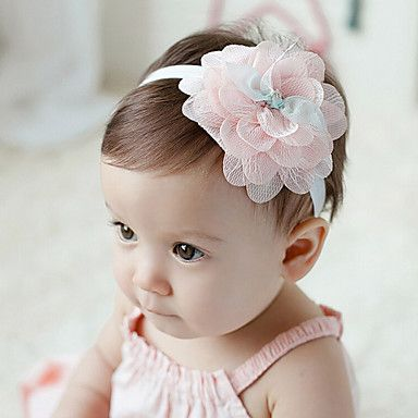 Kid's Colorful Flowers Headband (3 Month-3Years Old) 2016 - $3.99
