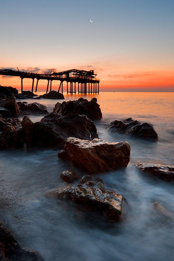 Rio Marina pier at dawn by Mario Tarello on 500px