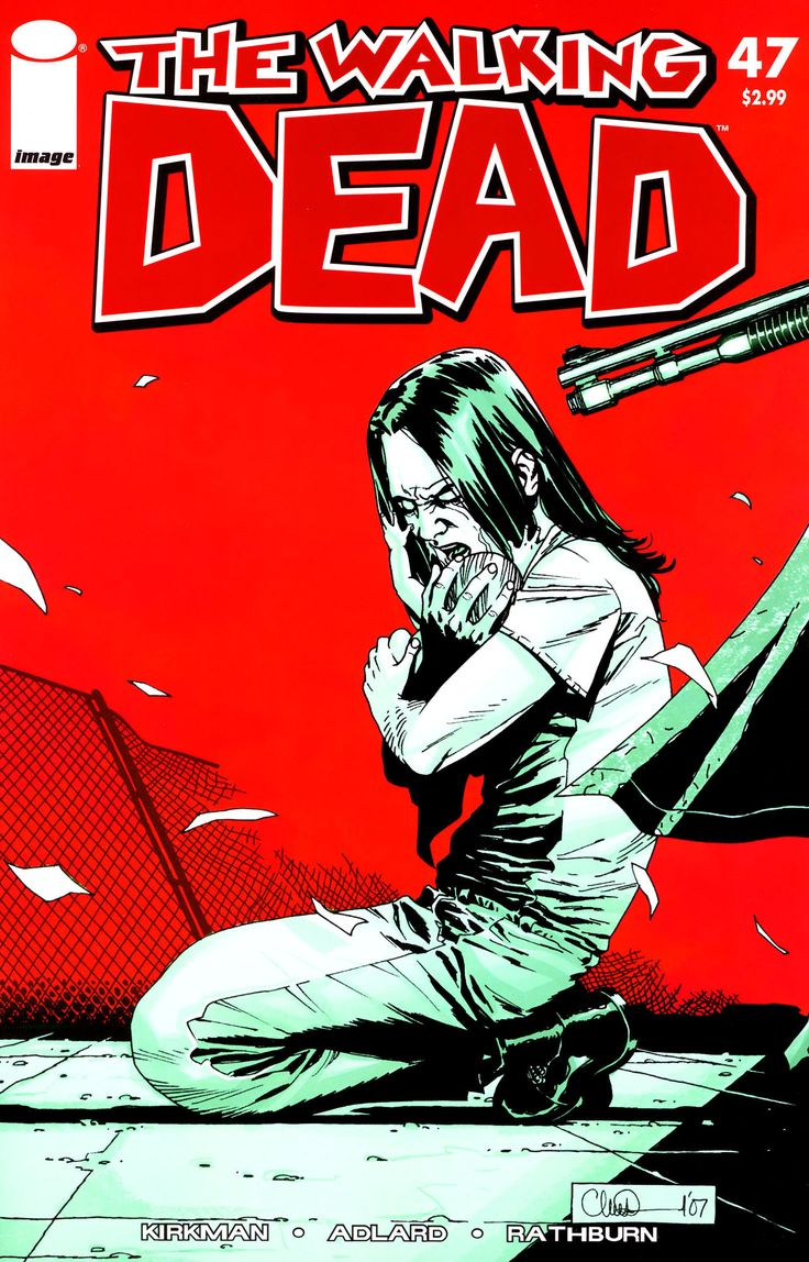 The Walking dead is a popular piece of work. It is a comic book, which is a very common thing to be read.