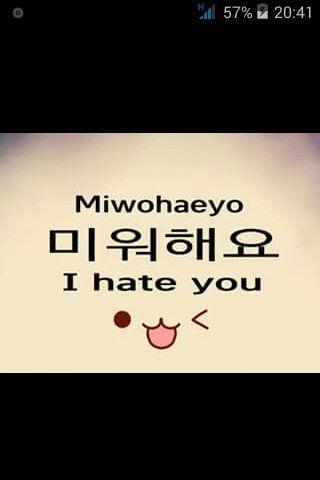 "[K-EDUCATION] LEARN KOREAN Learn how to write ""I hate you"" in Korean ~"