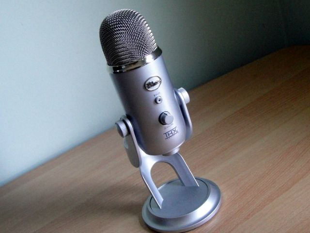 Create unparalleled recordings and send them directly to your computer with Blue Microphone's Yeti USB Microphone. The Yeti uses Blue Microphone's proprietary tri-capsule technology to produce pristine, studio-quality recordings. It features four different pattern settings so you can record vocals, instrumental music, podcasts, or interviews in ways that would normally require multiple microphones.