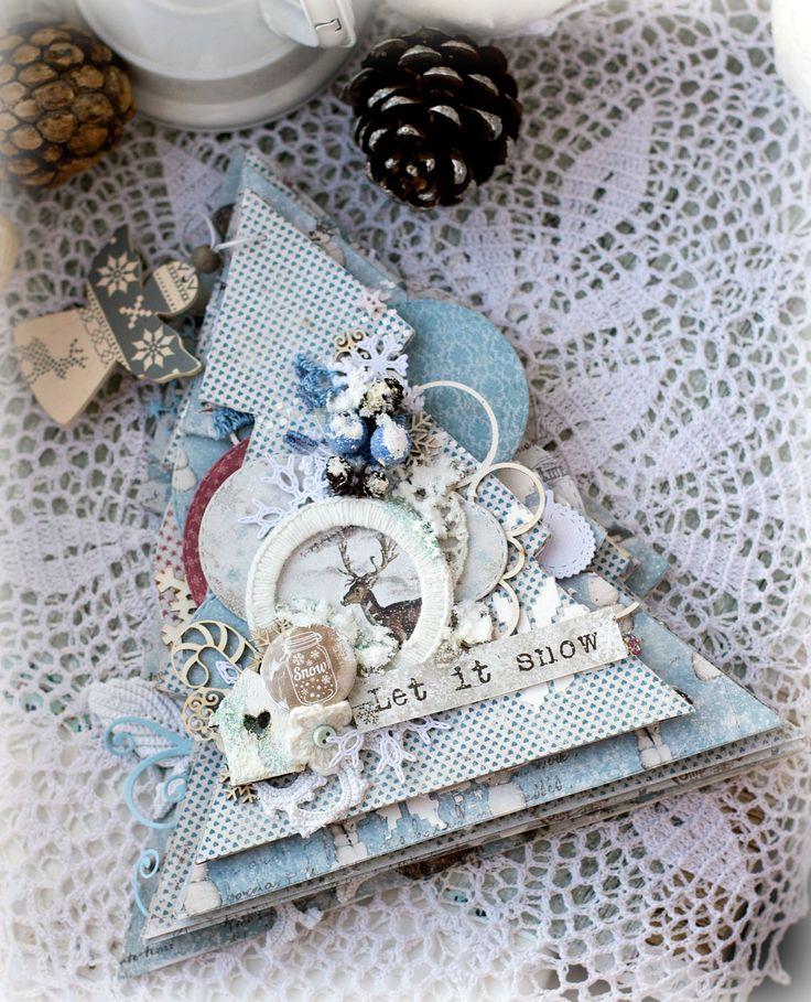 Модное хобби: Елочный базар. Вдохновение от Katerina Zlenko. Зимний миник