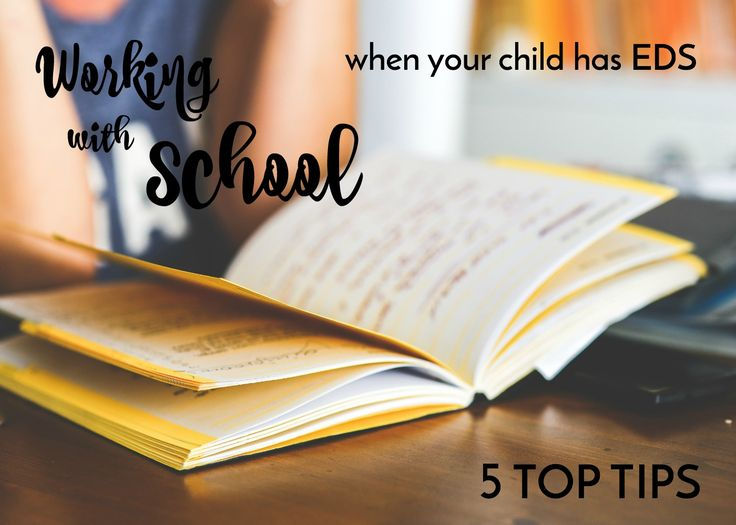 Working With School When Your Child Has Ehlers-Danlos Syndrome (EDS) - 5 TOP TIPS - My Stripy Life