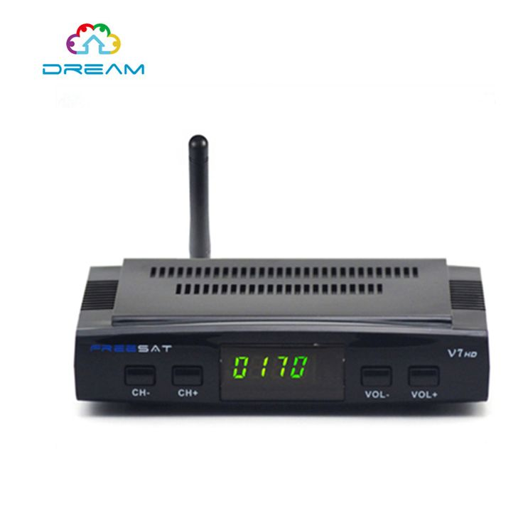 ==> [Free Shipping] Buy Best DVB-S2 1080p full hd satellite receiver freesat V7 iptv set top box with FREESAT V7 Satellite 2016 HOT Stock Youtube video Online with LOWEST Price   32753193543