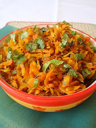 Simple, light and packed with flavor carrot stir fry. The earthy ...