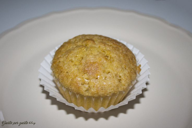 Muffin alla zucca con cuore di cioccolato fondente