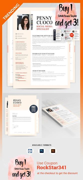 Graffias Resume Template http\/\/rockstarcv\/product\/resume - resumes that get you hired