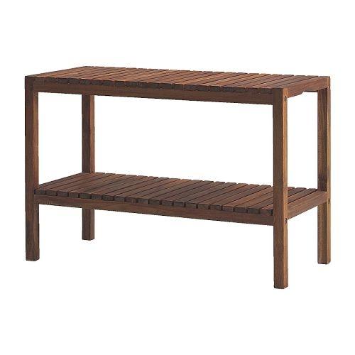 MOLGER Banco - nogal - IKEA