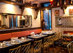 Nomad. Moroccan Restaurant. 78 2nd Ave (4th/5th), New York, NY 10003