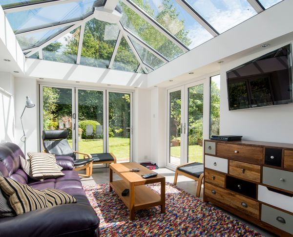 A Conservatory Can Make A Great Tv Lounge So Invite Friends Round